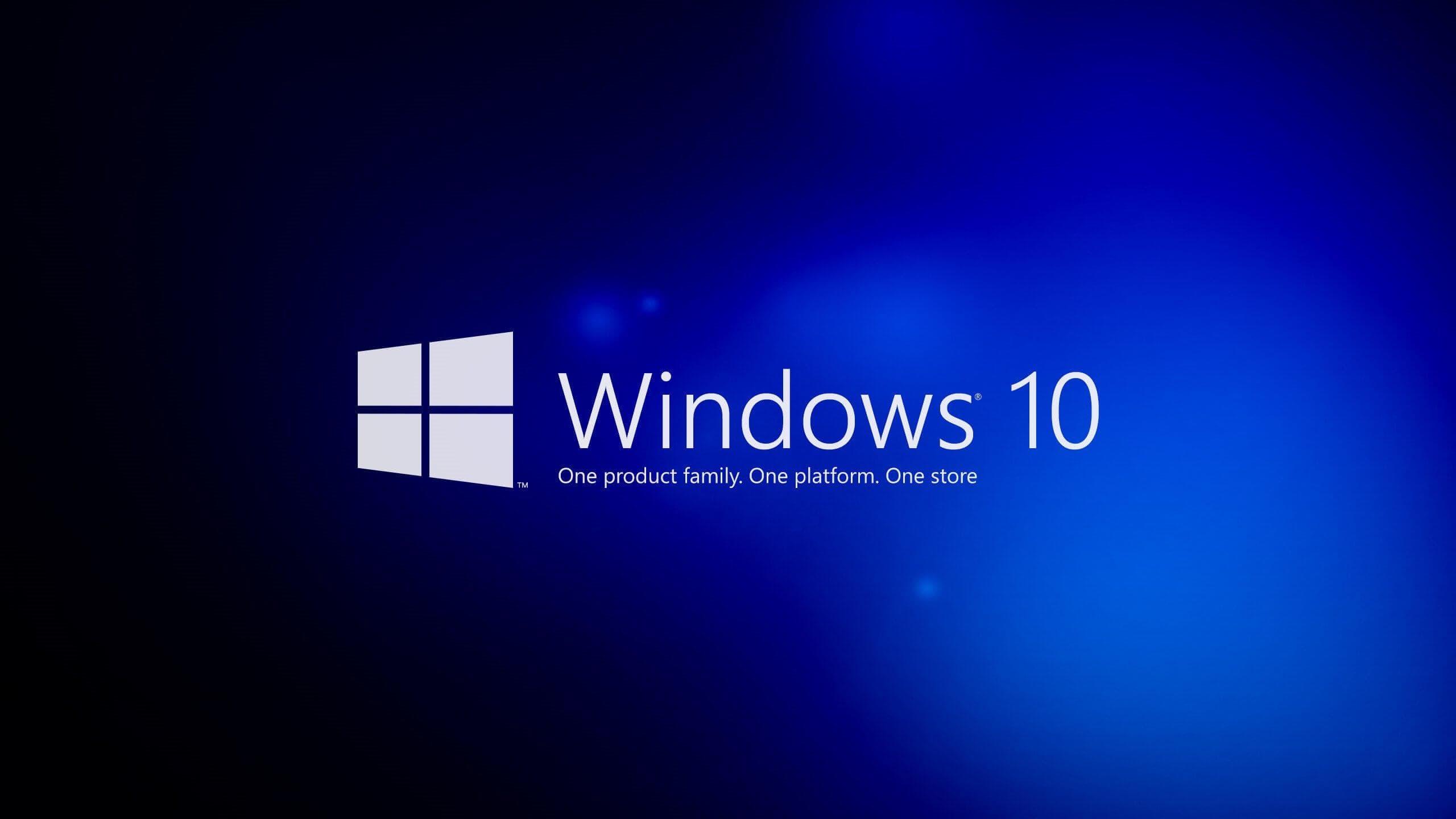 Windows 10 splash