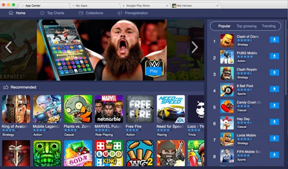 Bluestacks store mac