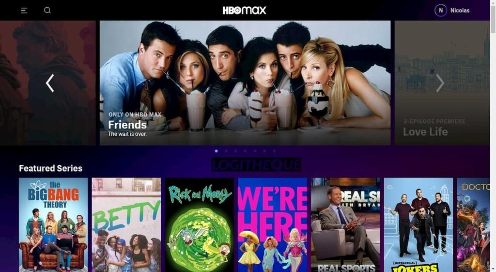 Homepage HBO