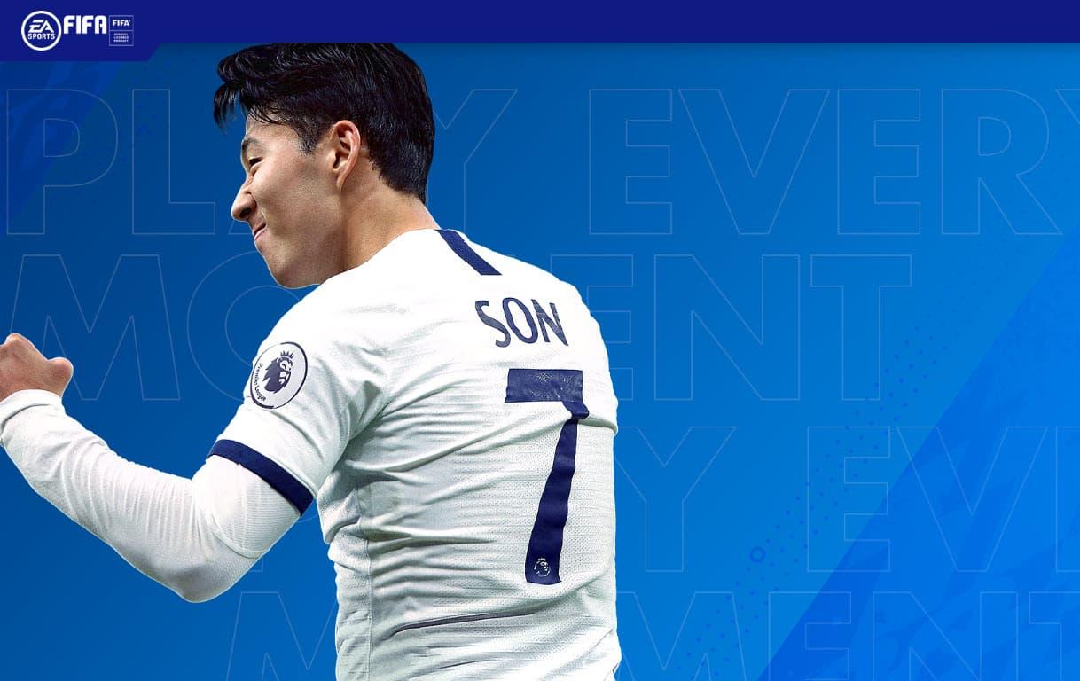 Heung min son FIFA