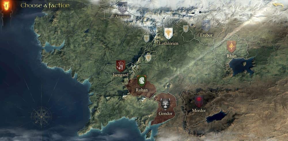 Lord of the rings rise to war game