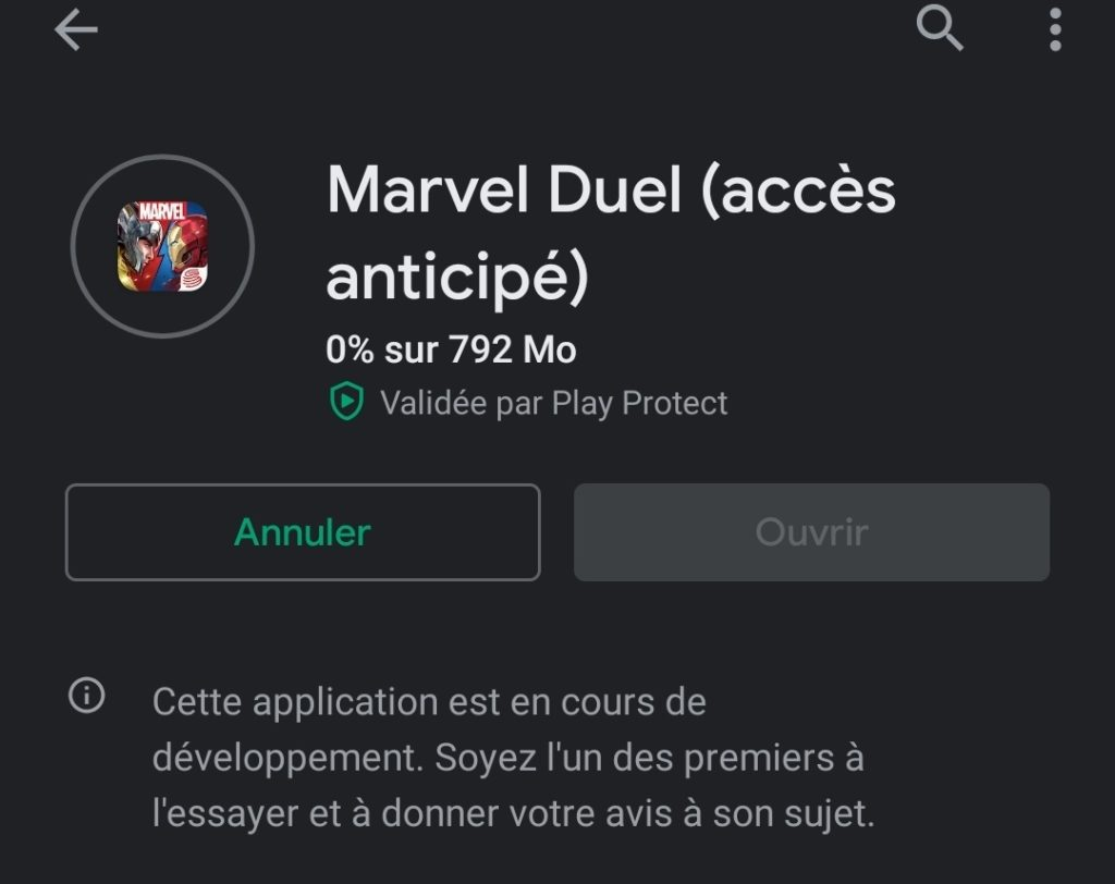 Marvel Duel Android Google Play