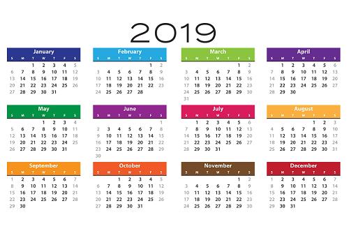 Calendrier 2019 2020 A Imprimer.Pour La Rentree Voici L Indispensable Des Calendriers 2018 2019