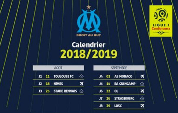 Calendrier rencontres om