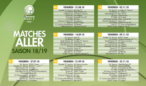 Match Lens Calendrier.2018 2019 Sports Calendars For Football Fans And Others