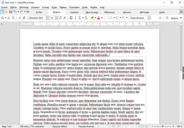 LibreOffice 6 3 provides more flexibility and an improved