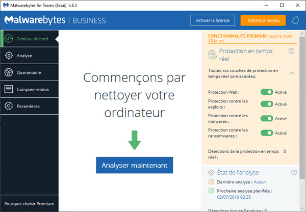 Malwarebytes fixes a bug that disabled Windows Defender in