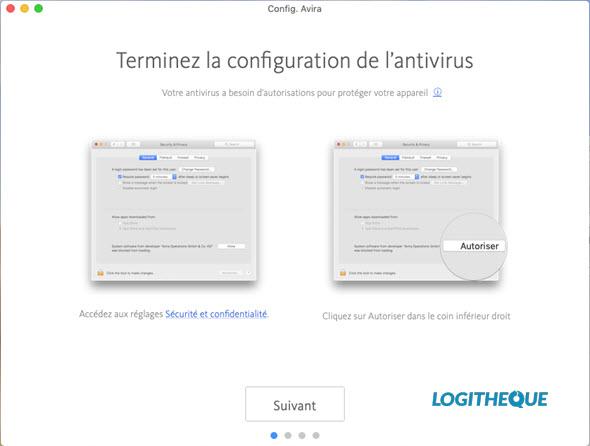 Free Mac antivirus test: Avira Free antivirus 2019