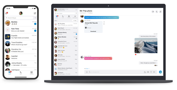 Skype version 8.29