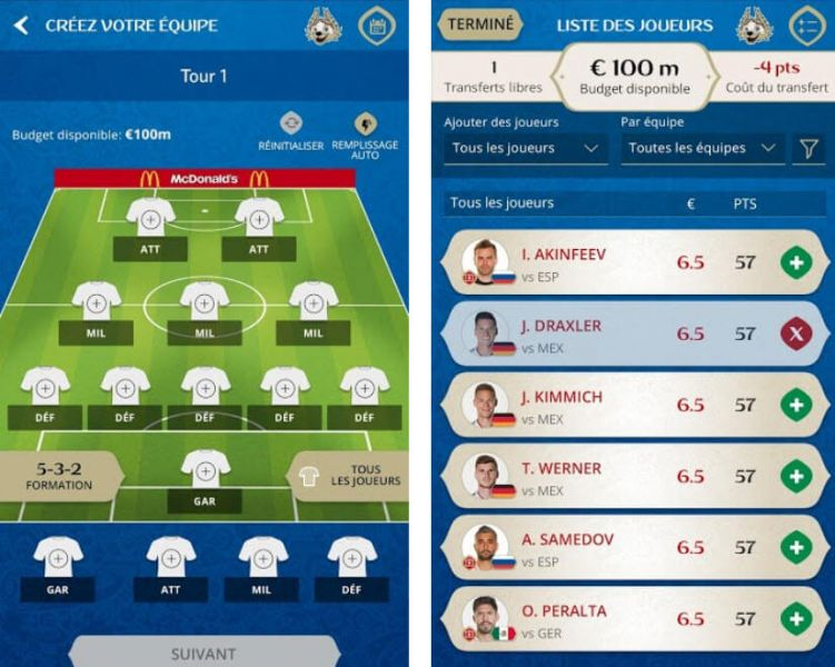 FIFA Fantasy game android