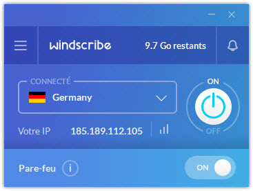 Windscribe Germany