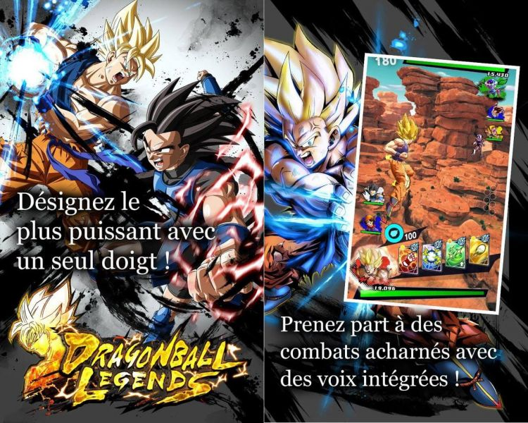 Dragon ball Legends official