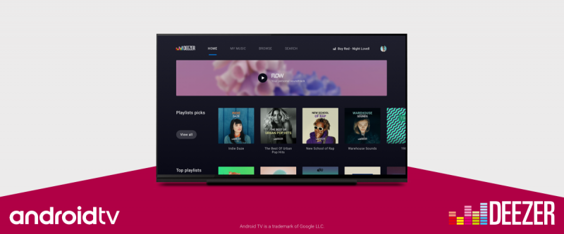 Deezer Android TV
