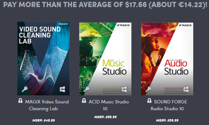 Humble Bundle Magix Acid Stduio