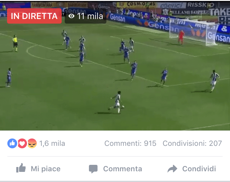 Streaming Match Facebook