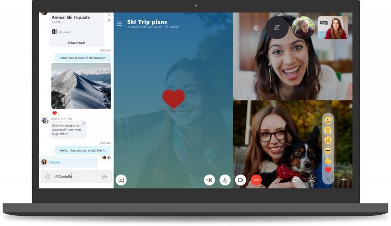 Windows 10: What does the new Skype look like?