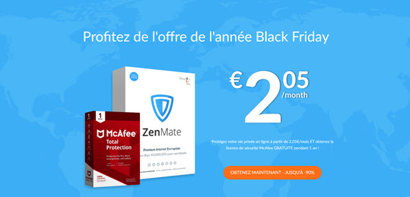 Zenmate VPN Black Friday