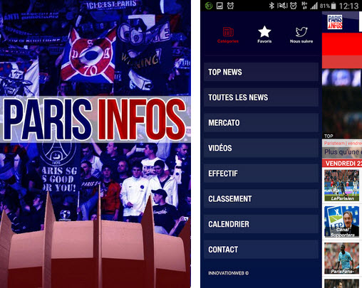 paris Infos android