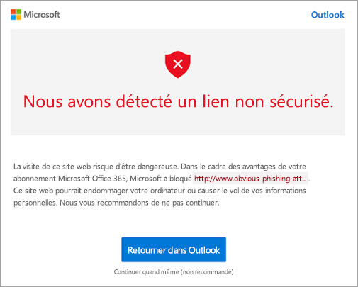 Office 365 sécurité