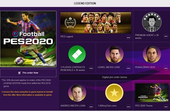 EFootball PES 2020: demo, news, rumours, news, everything