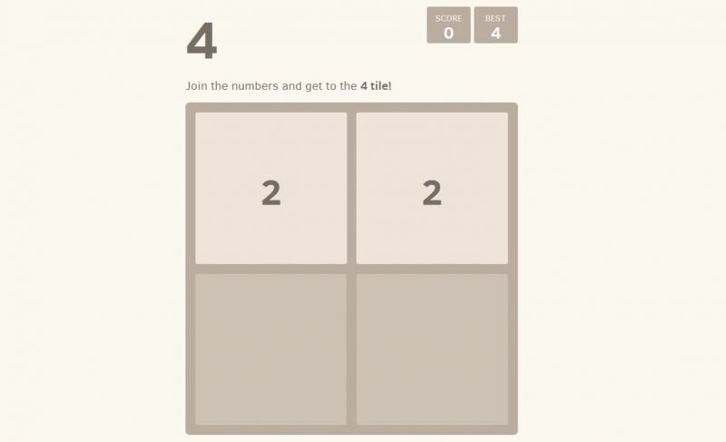 2048: The craziest versions of the Web!