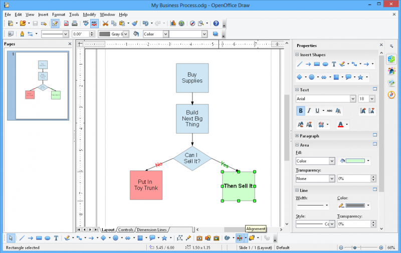Quelles sont les alternatives microsoft visio - Realiser un organigramme open office ...
