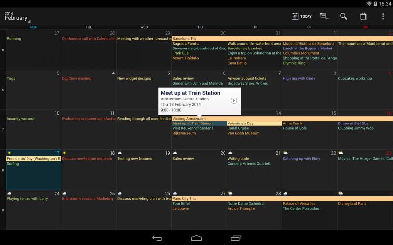 partager agenda outlook avec gmail