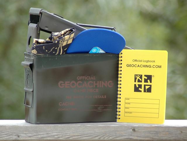 créer logbook geocaching