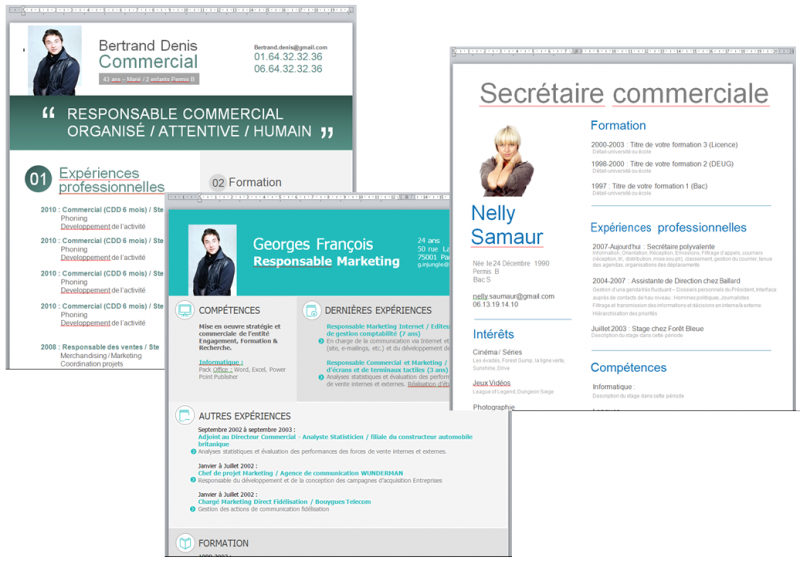 modele cv original gratuit a telecharger word