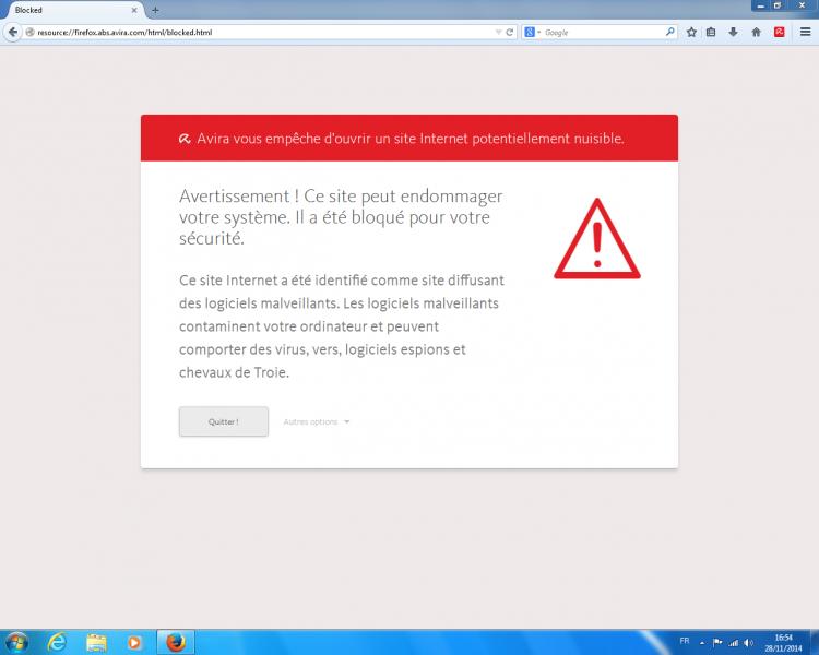 Avira Free Antivirus 2015 Test