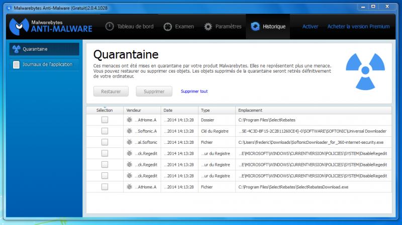 Télécharger Malwarebytes Anti-Malware (gratuit)