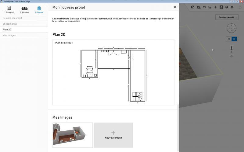 free le plan finalou pas with telecharger homebyme. Black Bedroom Furniture Sets. Home Design Ideas