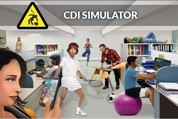 p u00f4le emploi lance cdi simulator  pour occuper les ch u00f4meurs
