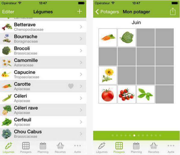 Semez plantez et r coltez en toute simplicit gr ce ces for Application plan jardin