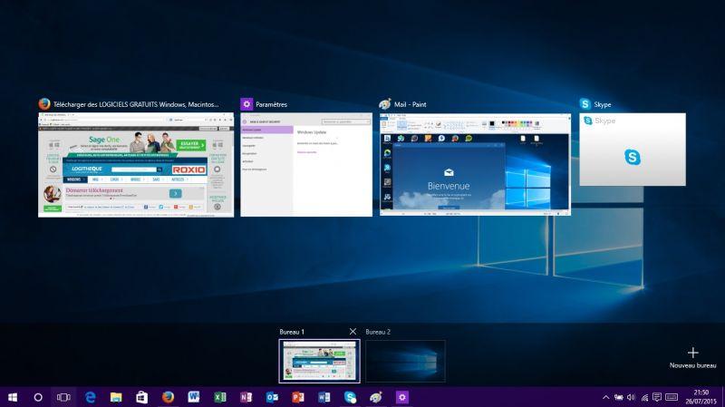 Windows 10 le test for Bureau windows 10