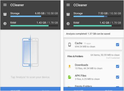 ccleaner android screenshot