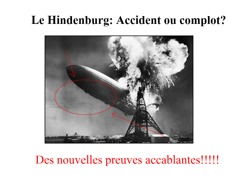 Hinderburg was an inside job