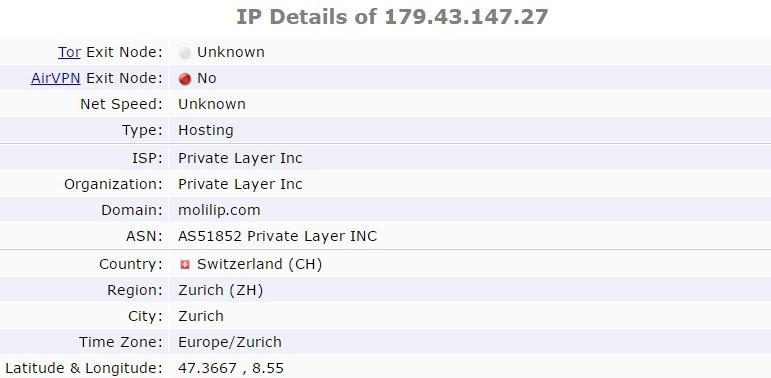Free VPN test: Betternet