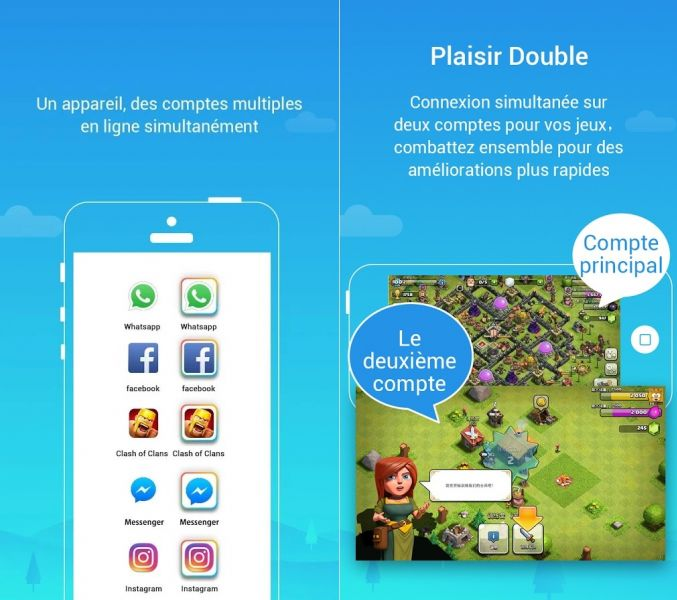 Royal Clash Tip: How do I get two accounts on my smartphone?