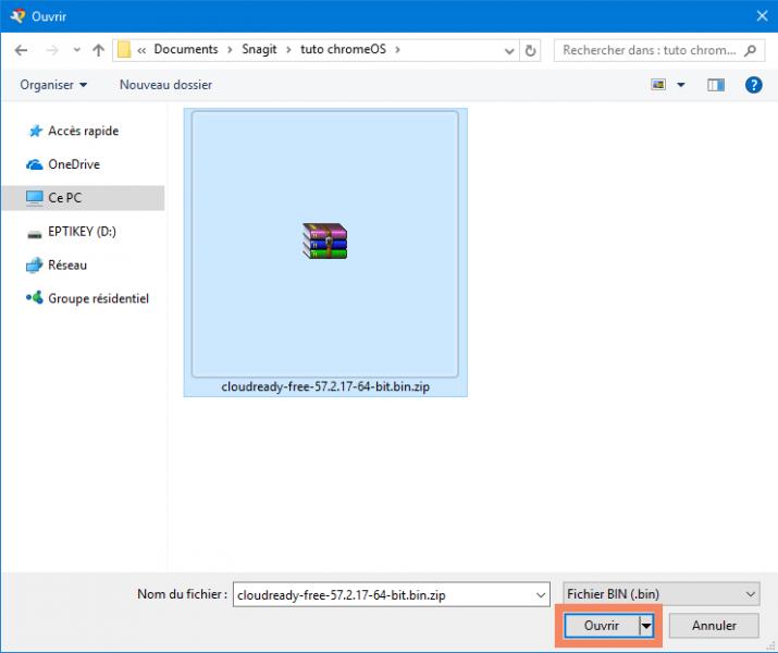 Comment installer ChromeOS sur un PC Windows 10 ?