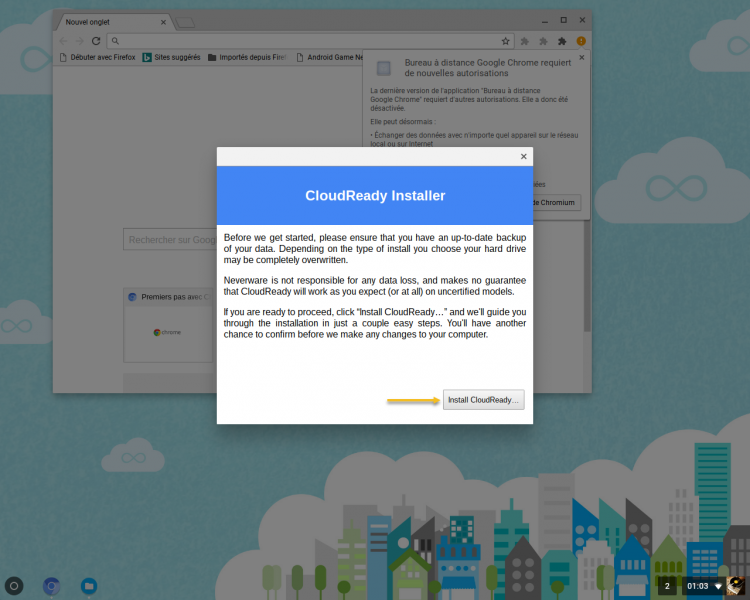 How to install ChromeOS on a Windows 10 PC?