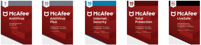 McAfee unveils its new range of security solutions