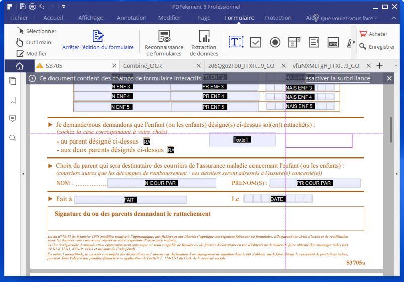 document vers pdf
