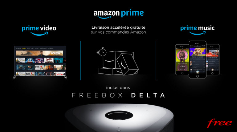 Freebox delta amazon