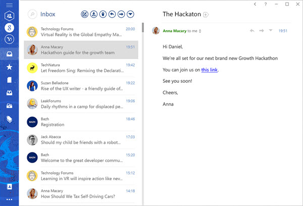 Windows: the best mail clients to replace Mail