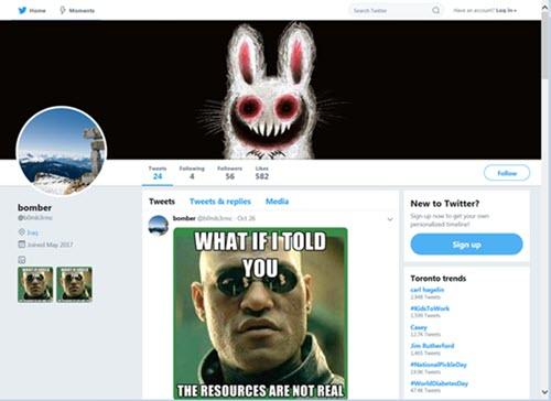 Malware Twitter