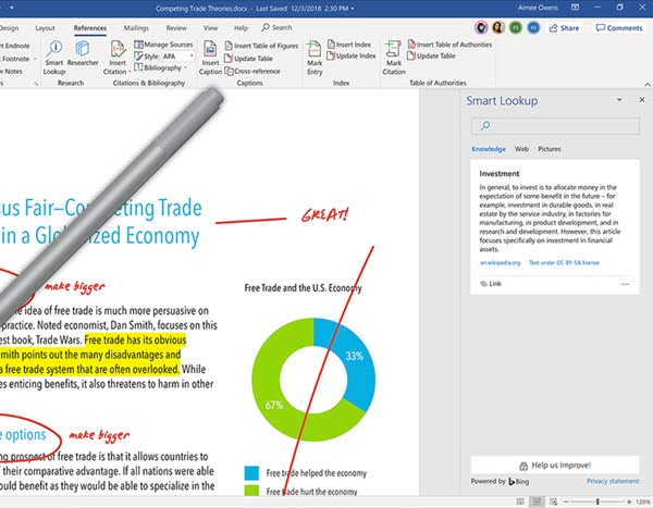 Office 365: Word gets richer to make it easier for several