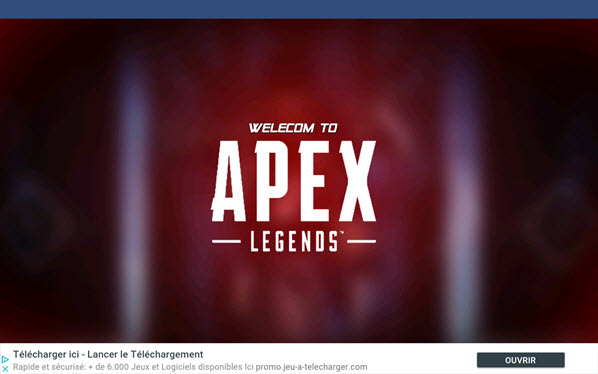 Fake apex legends
