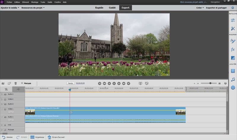 TEST D'ADOBE PREMIERE ELEMENTS 2020 : LE MONTAGE VIDÉO ACCESSIBLE Editeur_video