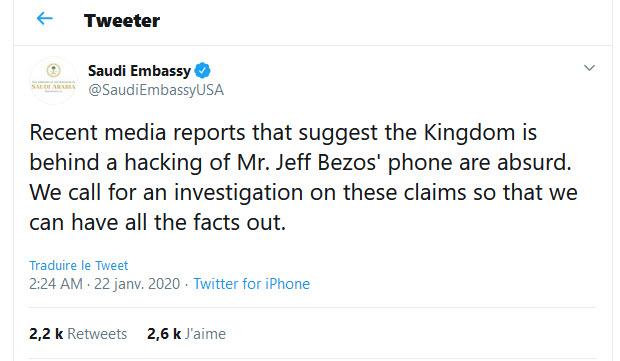 Saudi Embassy Bezos